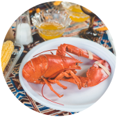 A lobster feast
