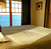 Photo of Barnstable Harbor from a bedroom bed