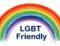 LGBT Friendly rainbow logo