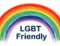 LGBT Friendly rainbow logo