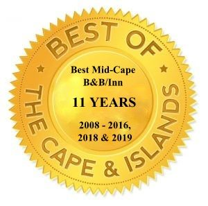 Gold best of logo from Cape Cod Life