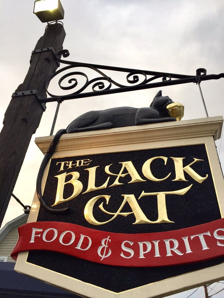 The Black Cat sign
